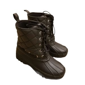 Sperry Gosling Quilted Waterproof Rubber Boots
